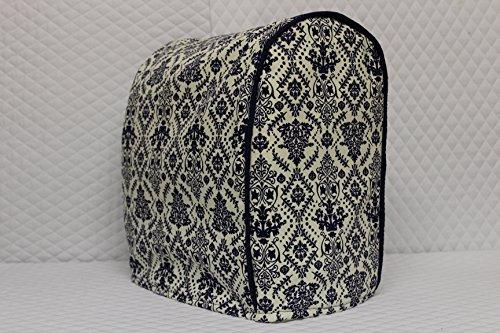 Tilt Head KitchenAid Stand Mixer Cover Blue Demask