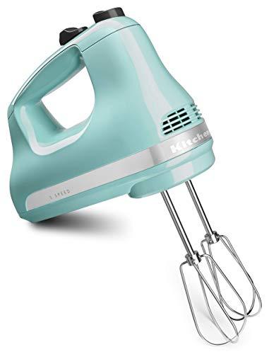 KitchenAid KHM512AQ Pro Line 5 Speed Hand Mixer Aqua Sky Renewed