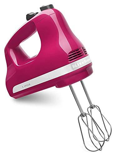 KitchenAid KHM5AP 5-Speed Ultra Power Hand Mixer Cranberry