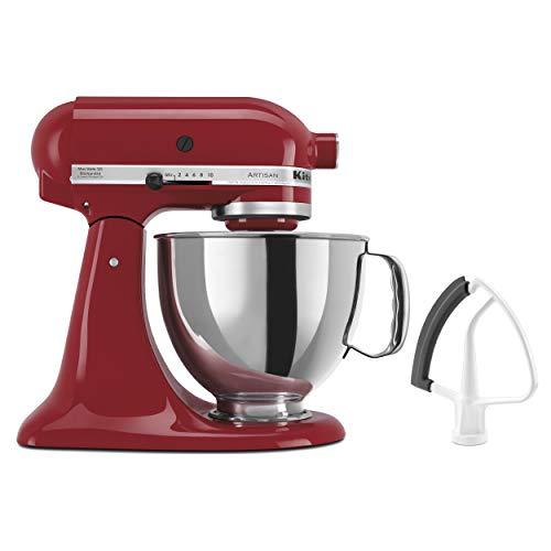 KitchenAid KSM150FEER Artisan Bundle Stand Mixers 5 quart Empire Red