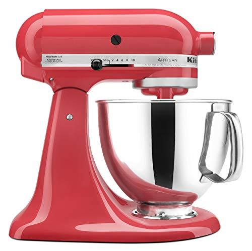 KitchenAid KSM150PSWM Artisan Series 5-Qt Stand Mixer with Pouring Shield - Watermelon