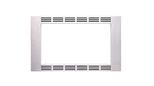 Panasonic 27 11 cu ft Microwave Ovens - NN-TK623G Stainless Steel Trim Kit Silver