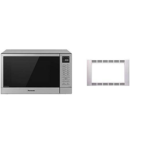 Panasonic 27 Microwave Trim Kit for Panasonic 11 cu ft Microwave Ovens - NN-TK623G Stainless Steel