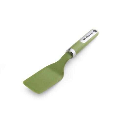 KitchenAid Nylon Cookie Spatula Green Apple