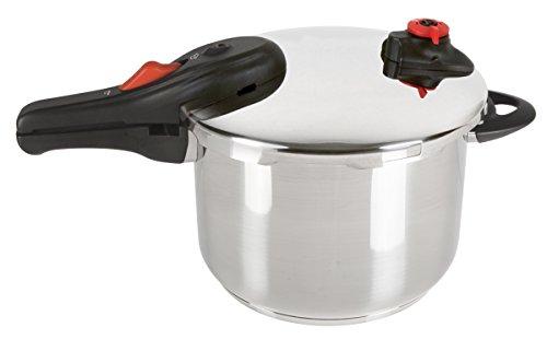 NuWave 31201 Pressure Cooker 65 quart Silver