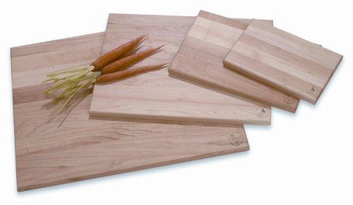 JK Adams 20-Inch-by-16-Inch Sugar Maple Wood Takes Two Cutting Board