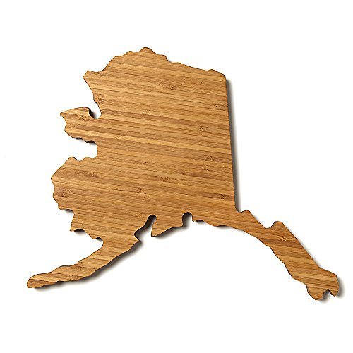 Alaska State Shaped Cutting Board Mini