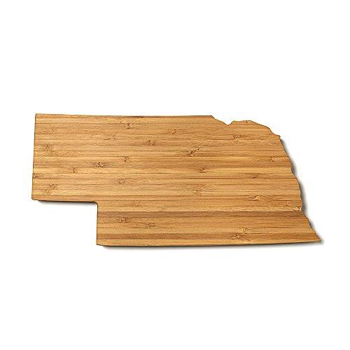 Nebraska State Shaped Cutting Board Mini