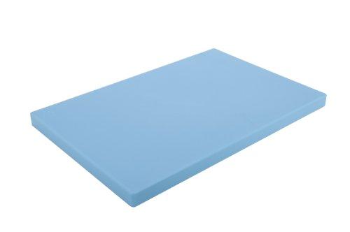Alegacy PEM1218MBL Medium Density Polyethylene Color Coded Cutting Board 12x18x34 Blue