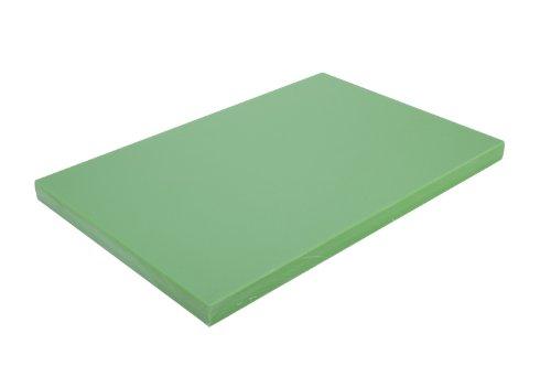 Alegacy PEM1520MG Medium Density Polyethylene Color Coded Cutting Board 15x20x34 Green