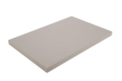 Alegacy PEM1824MTN Medium Density Polyethylene Color Coded Cutting Board 18x24x34 Tan