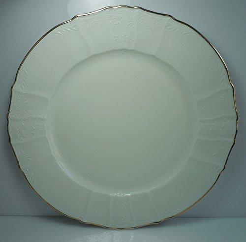 Baum Brothers Bernadotte Ivory Chop Plate 11 34