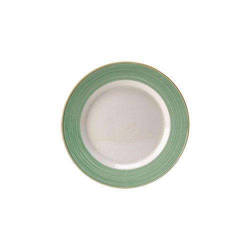 Steelite 15290226 Rio Green 1175 Service  Chop Plate - 12  CS