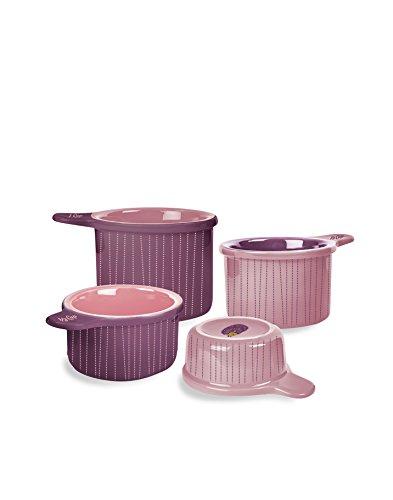 Kitschn Glam Ceramic 4 Measuring Cup Set- Hedgehog Theme