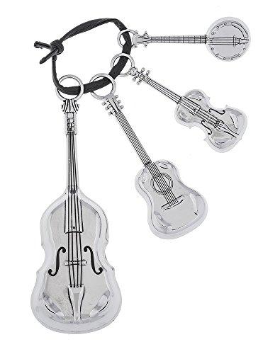 Ganz Kitchen Baking Measuring Spoons Music - String Instruments