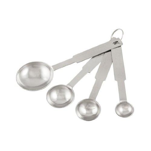 TOOGOOR Kitchen Baking Cooking Stainless Steel Measuring Spoon Set 4 Sizes