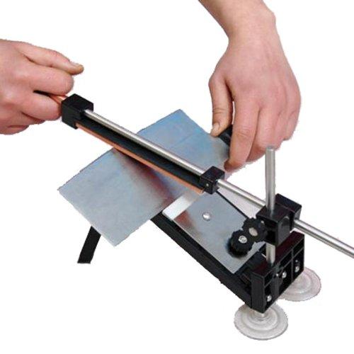 Goplus Professional Kitchen Knife Sharpener System Fix-angle 4 Stones