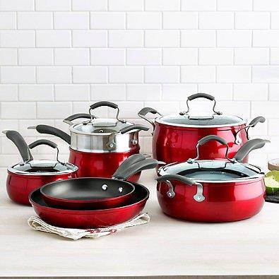 Epicurious 11-pc Aluminum Nonstick Cookware Set