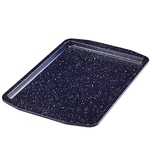 Paula Deen Nonstick Speckled Bakeware Cookie SheetBaking Pan 10-Inch x 15-Inch Deep Sea Blue Speckle