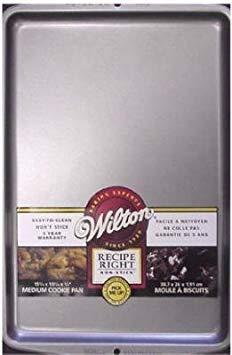 Wilton CookieJelly Pan Large 17-14 X 11-12 Non Stick Steel