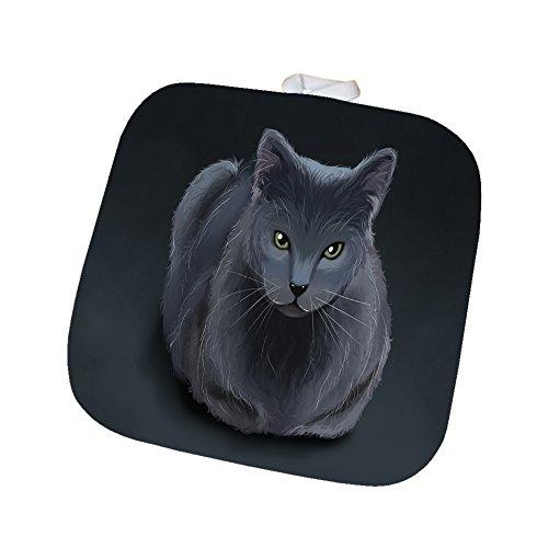 Blue Russian Cat Pot Holder