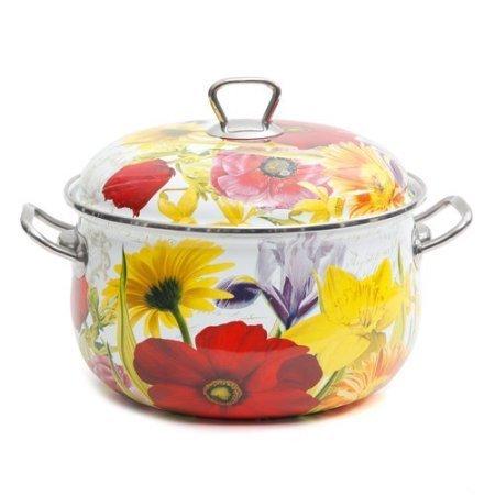 The Pioneer Woman Floral Garden 4-Quart Dutch Oven Multi-Color