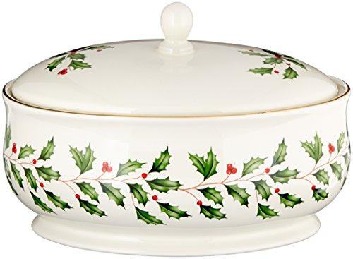 Lenox Holiday Covered Dish Ivory