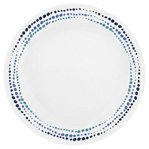 Corelle Livingware Ocean Blues 1025 Dinner Plate Set of 8