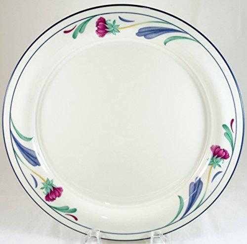 Lenox Poppies On Blue Dinner Plate