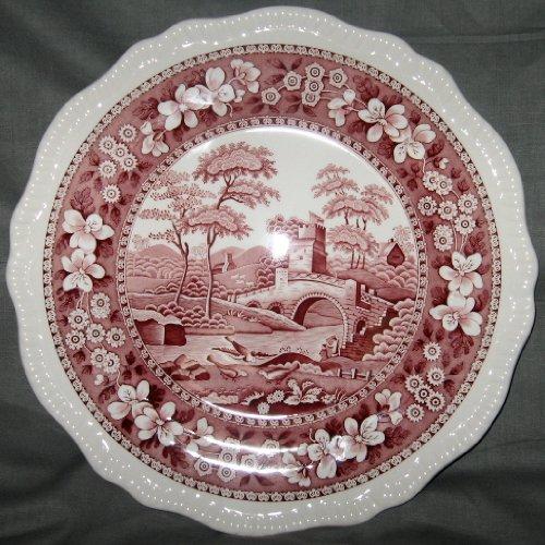 Spode Tower-Pink Dinner Plate