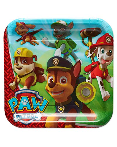 American Greetings Paw Patrol Plates Party Supplies 40-Count