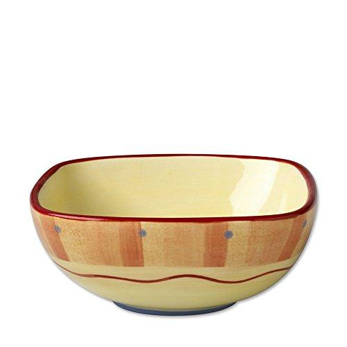 Pfaltzgraff Napoli Square Salad Bowl 5-34-Inch