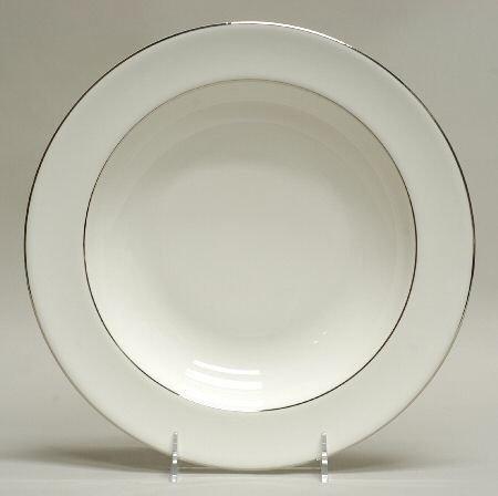 Wedgwood Signet Platinum Individual Pasta Bowl