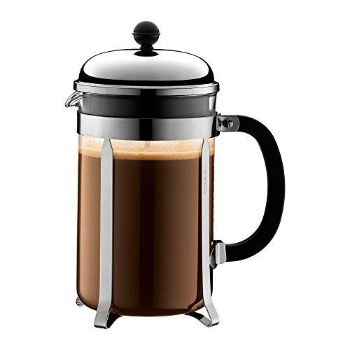 Bodum Chambord French Press Coffee Maker 12 Espresso Cup 51oz Chrome