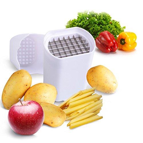 Bradex Potato Chipper Potato Veggie Chopper - Best For French Fries & Apple Slices - Potato Chips Waffle Maker