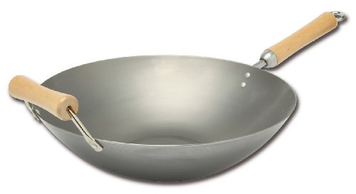 Joyce Chen 21-9978 Classic Series Carbon Steel Wok 14-inch