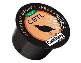 CBTL Premium DECAF Espresso Capsules - 100 Count 10 Boxes of 10