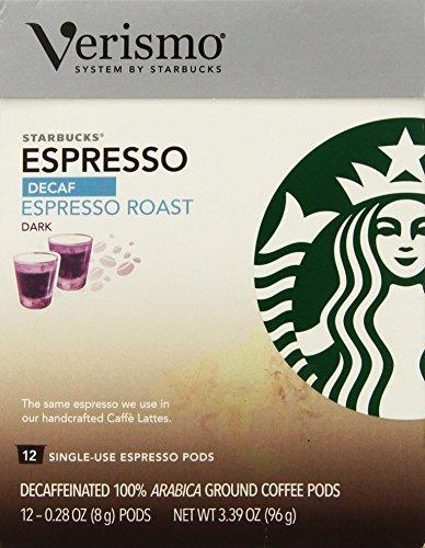 Starbucks Decaf Espresso Roast Verismo™ Pods 12 -028oz