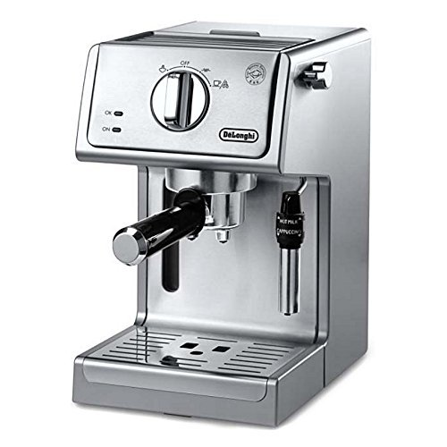DeLonghi ECP3630 15 Bar Pump Espresso and Cappuccino Machine Stainless Steel ECP3630