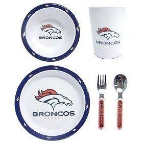 NFL Denver Broncos Childrens Dinner Set