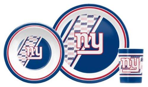 NFL New York Giants Childrens Dinner Set