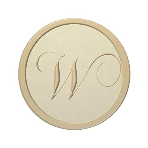 Zazzle Monogram Coasters - Letter W