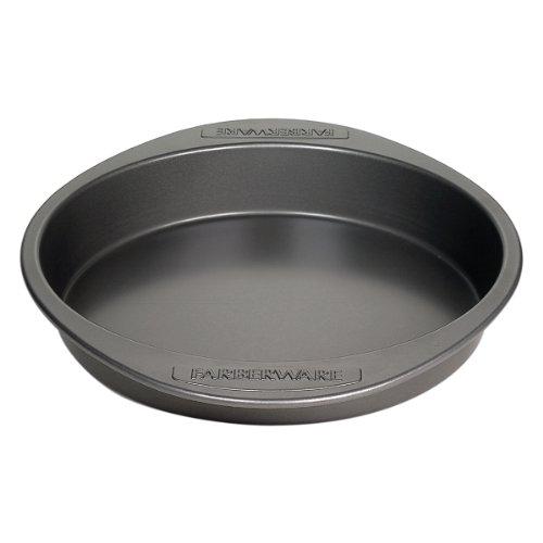 Farberware Nonstick Bakeware 9-Inch Round Cake Pan Gray