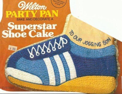 Wilton 502-1964 Superstar Shoe Cake Pan
