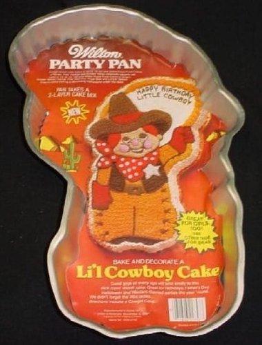Wilton Lil Cowboy Cake Pan 502-3363