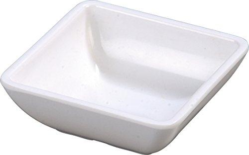 Carlisle 086002 Melamine Single Square Ramekin 2 oz Capacity 2-34 x 2-34 x 1 White