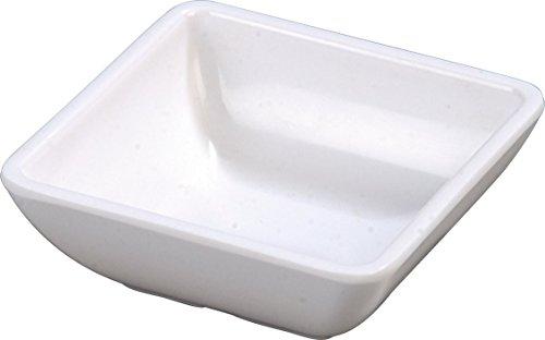 Carlisle 086002 Melamine Single Square Ramekin 2-oz Capacity 2-34 x 2-34 x 1 White Case of 48