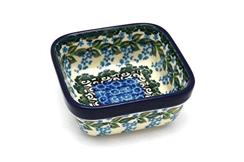 Polish Pottery Ramekin - Square - Wisteria