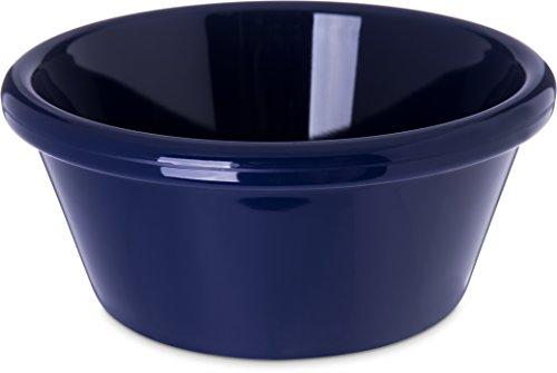 Carlisle 4312660 SAN Smooth Ramekin 6 oz Capacity 180 x 390 Cobalt Blue Case of 48