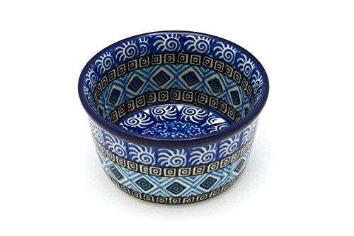 Polish Pottery Ramekin - Aztec Sky